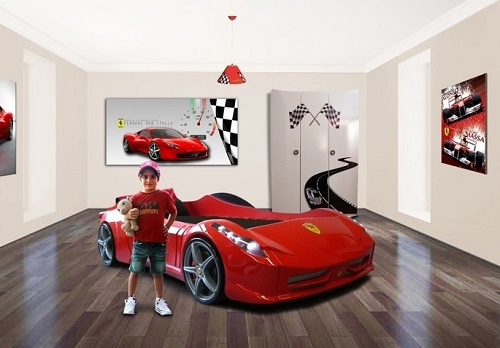7 mind blowing ideas for boys bedroom for Car bedroom ideas for boys