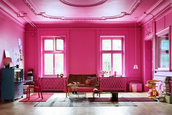 Charming pink living room decor by homedecorbuzz