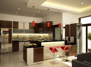Decoration in Modern Kitchen interior design.