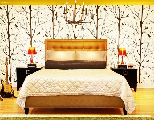 Feng Shui bedroom art and decoration.