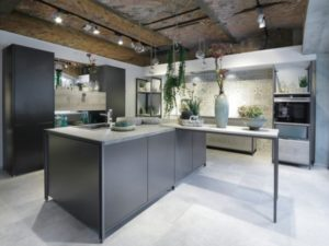 Nature in kitchen with plants