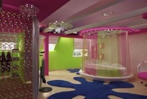 Romantic valentine bedroom interior design ideas.