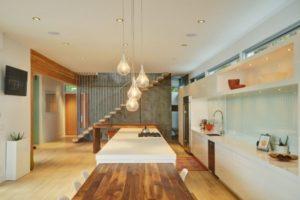Simple contemporary kitchen interior design