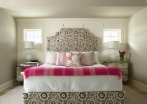 Simple pink bedroom for valentine's day by homedecorbuzz