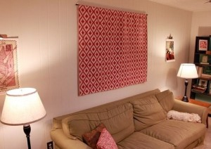Tapestry wall art for living room.
