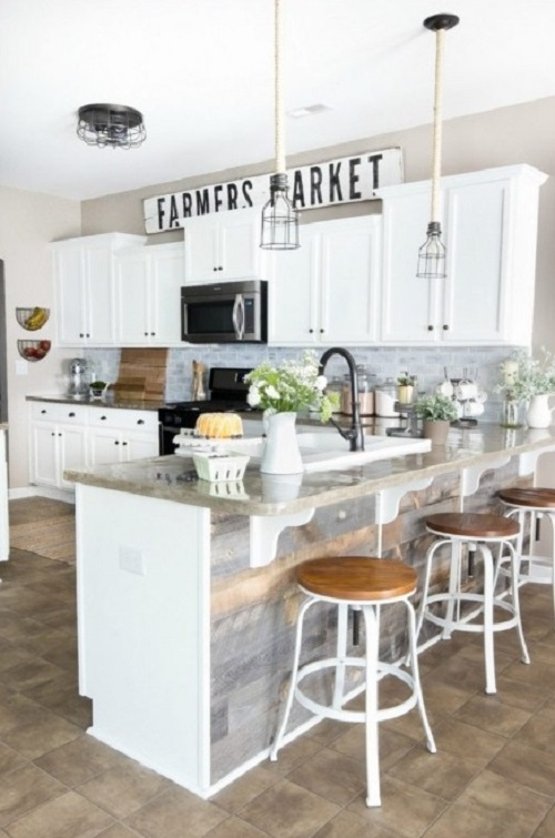 Top kitchen design ideas in white color from homedecorbuzz