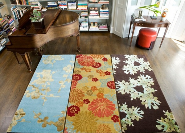 Traditional living room rugs