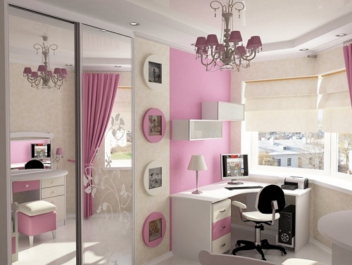 Using mirrors can help you to reduce bedroom decorating cost.