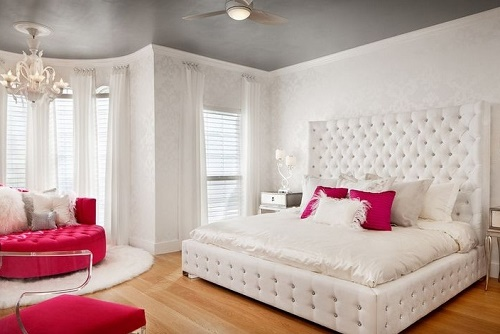 12 Tips To Decorate White Bedroom