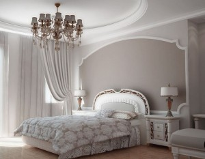 5 Steps to design White Bedroom.