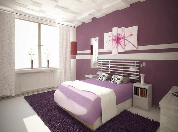 elegant couple bedroom interior design