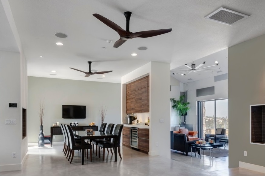 Living room and Dining Room comes together with better air facilities