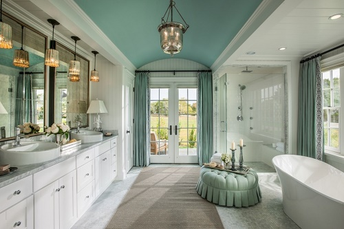 5 Ideas to decorate Master Bathroom -