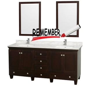 Things to look before buying Bathroom vanities.