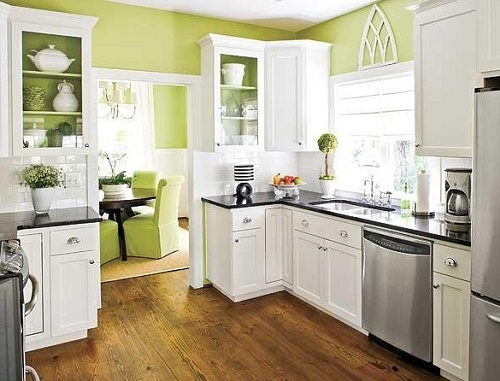 Tips to Paint Kitchen Cabinets.