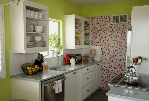 10 tips to decorate kitchen in budget - Kitchen decorating ideas on a budget ...