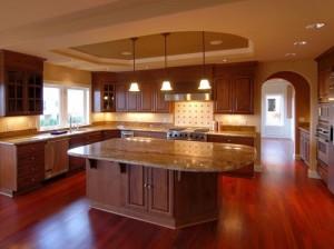 Use proper lighting while remodeling kitchen.