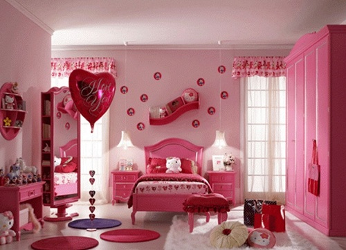 5 ideas to Decorate Pink Bedroom for Girl -