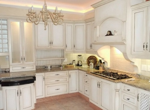 Beautiful tips ideas for kitchen cupboards decoration.