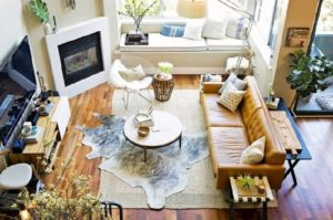 Decorate living room that brings nature to the home