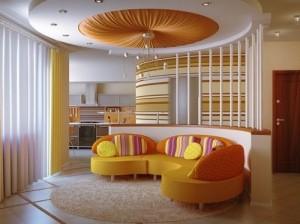Lovely ceiling design for home decor living room.