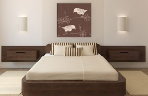 Lovely wall prints for bedroom designs 2016.