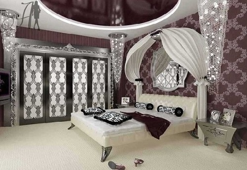 Luxurious bedroom designs and ideas.