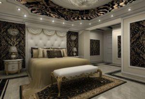 Most luxury bedroom interior design