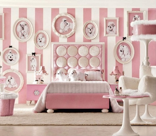 5 ideas to Decorate Pink Bedroom for Girl |