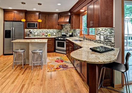 Select stylish kitchen design before building it.