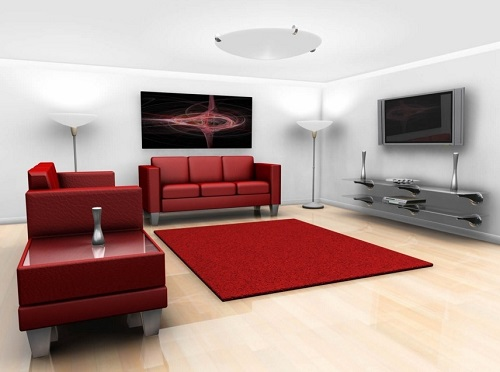 Tips to Choose Rugs for Living Room.
