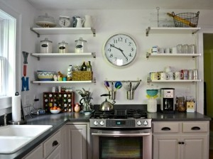 Well organized kitchen is must for home.