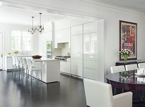 White kitchen decor trends 2016.