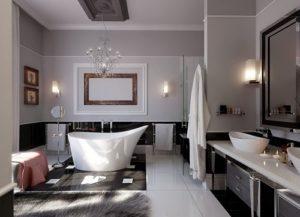 Beautiful vanities for luxurious bathroom design.
