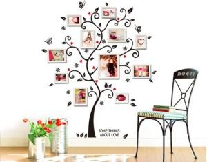 Family wallpaper pattern ideas for living room walls.