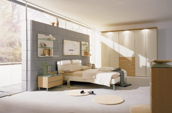 Grey bedroom interior decor ideas