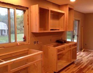 How to Build Kitchen Cabinets.