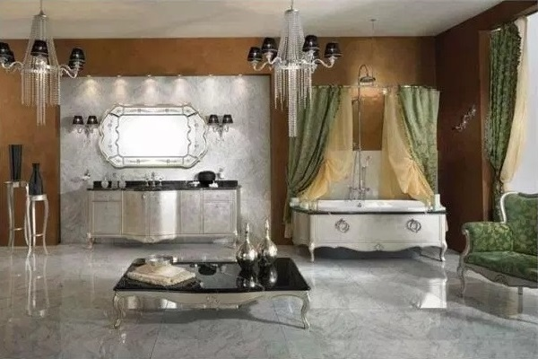 Most luxury bathroom design photo