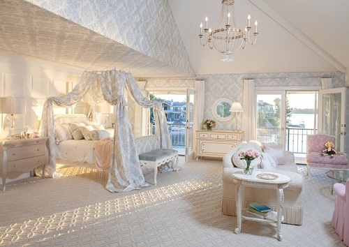 Princess bedroom design for girl.