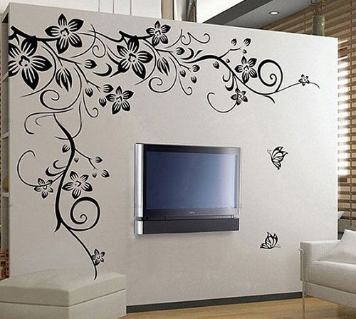 Awesome wall graphics for home interior design.