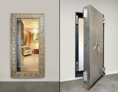 Secret Mirror door for room.