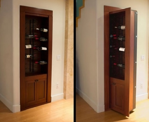 13 awesome ideas to make secret door to a room for Murphy garage doors