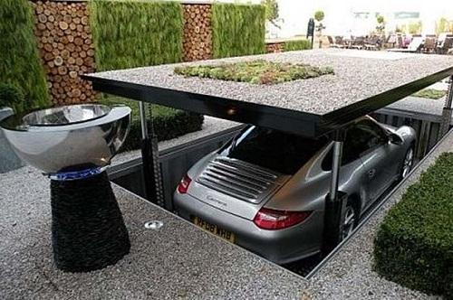 Secret door in garage