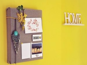 Shoe box wall-art for home decoration.