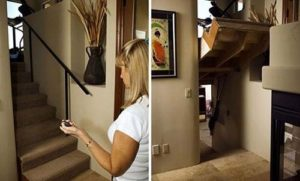 Staircase secret room