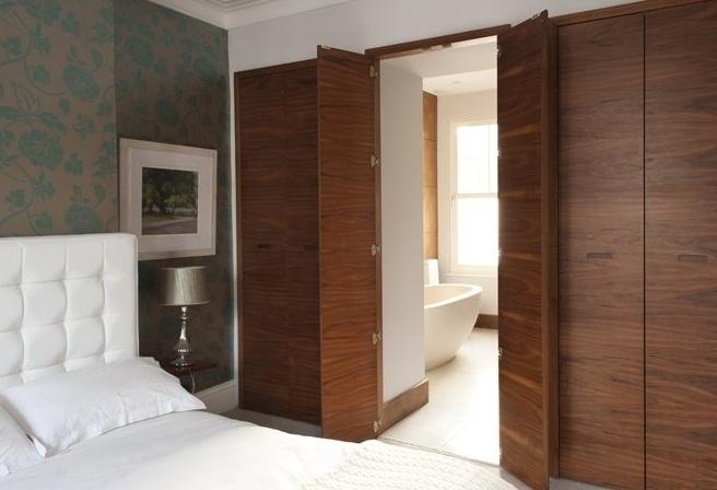 Wardrobe secret door.