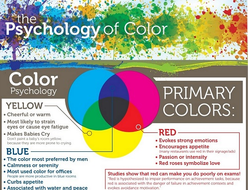The Psychology of Color in Home Decoration [Infographic ...