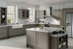 Best grey kitchen interior design.