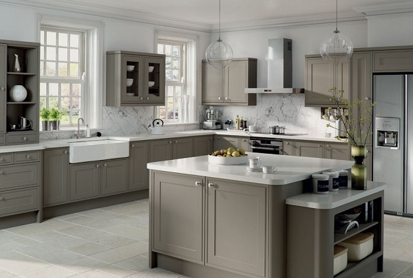 Best grey kitchen interior design.