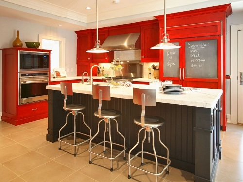 Best red kitchen design ideas and tips.